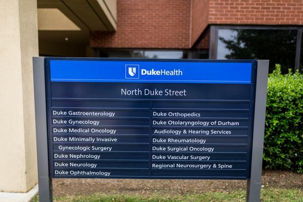 Duke General Surgery at North Duke Street 3116 N Duke St Fl