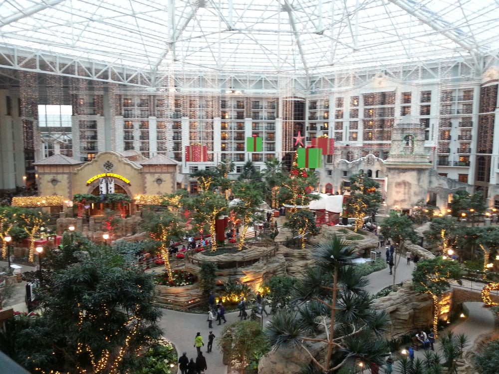 gaylord atrium full of christmas decorations yelp. Black Bedroom Furniture Sets. Home Design Ideas