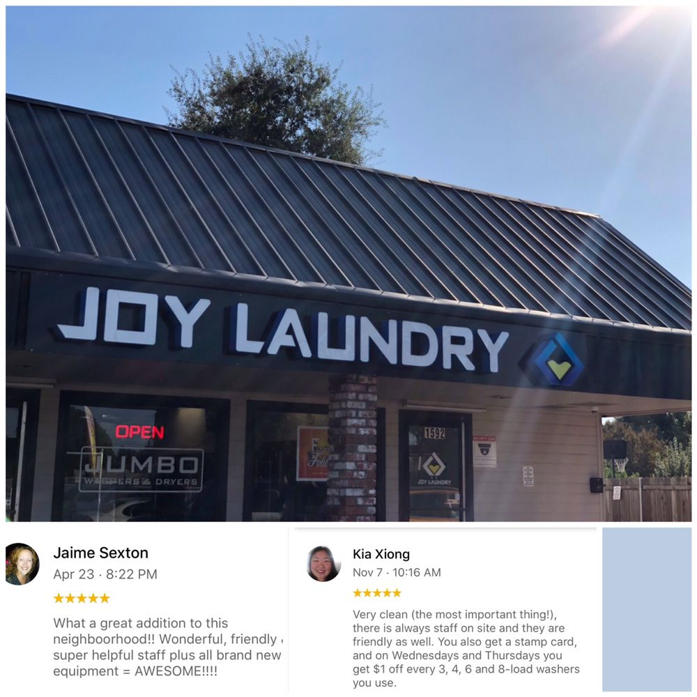 Joy Laundry: 1592 N Beale Rd, Marysville, CA