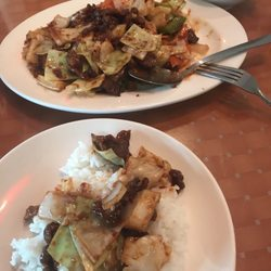 Photo Of Chef Wong Cedar Rapids Ia United States Twice Cooked Beef