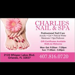Charlie Nail & Spa - Nail Salons - 2124 Whisper Lakes Blvd, South ...