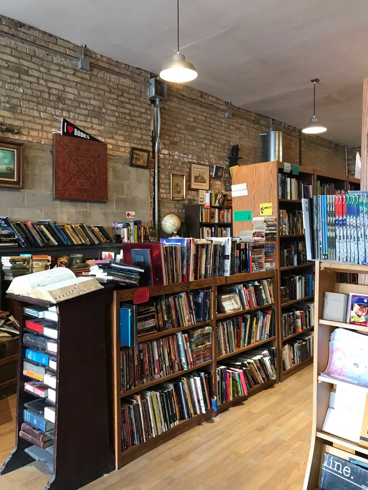 Uncharted Books: 2620 N Milwaukee Ave, Chicago, IL
