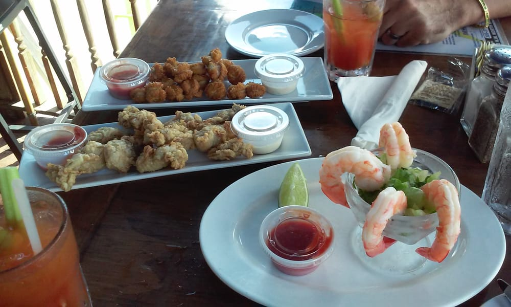 Appetizers fried fish rie fried oysters shrimp cocktail yelp for Garcia s seafood grille fish market miami fl