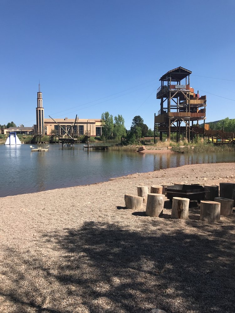 The High Five Eco Zip Tour: 35 NM-50, Glorieta, NM