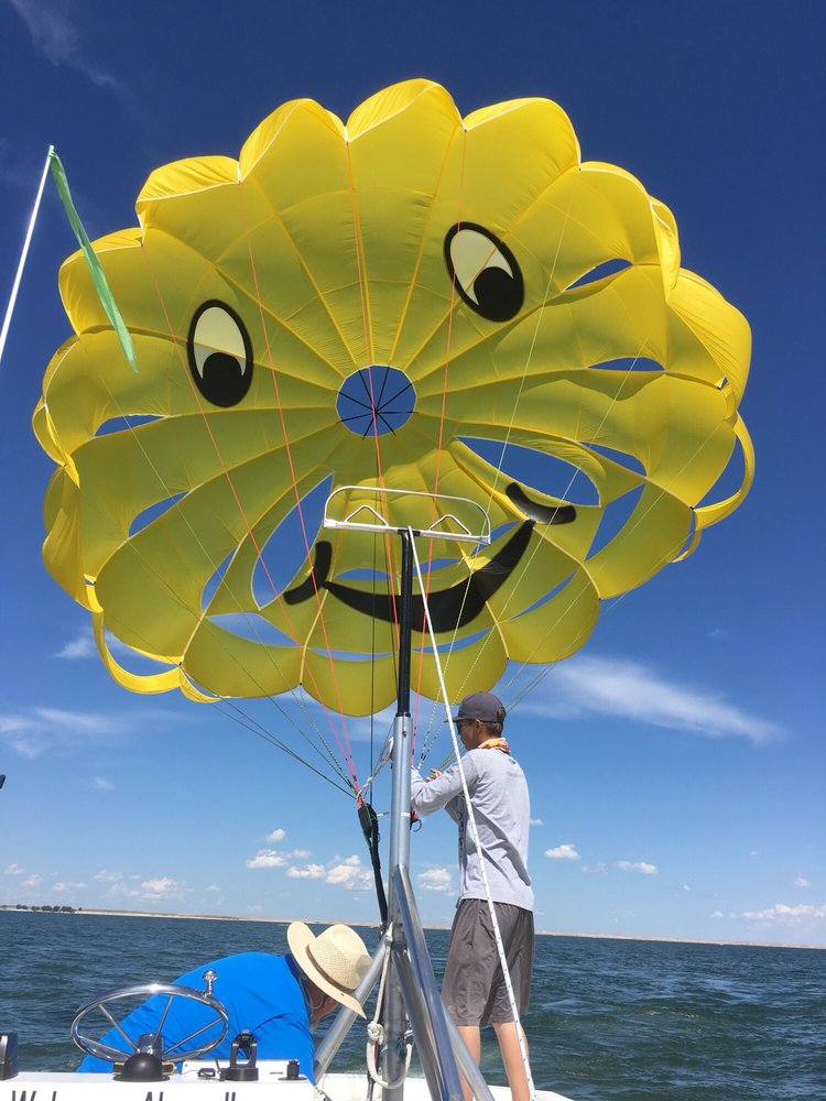 Big Mac Parasailing: Arthur Bay, Keystone, NE