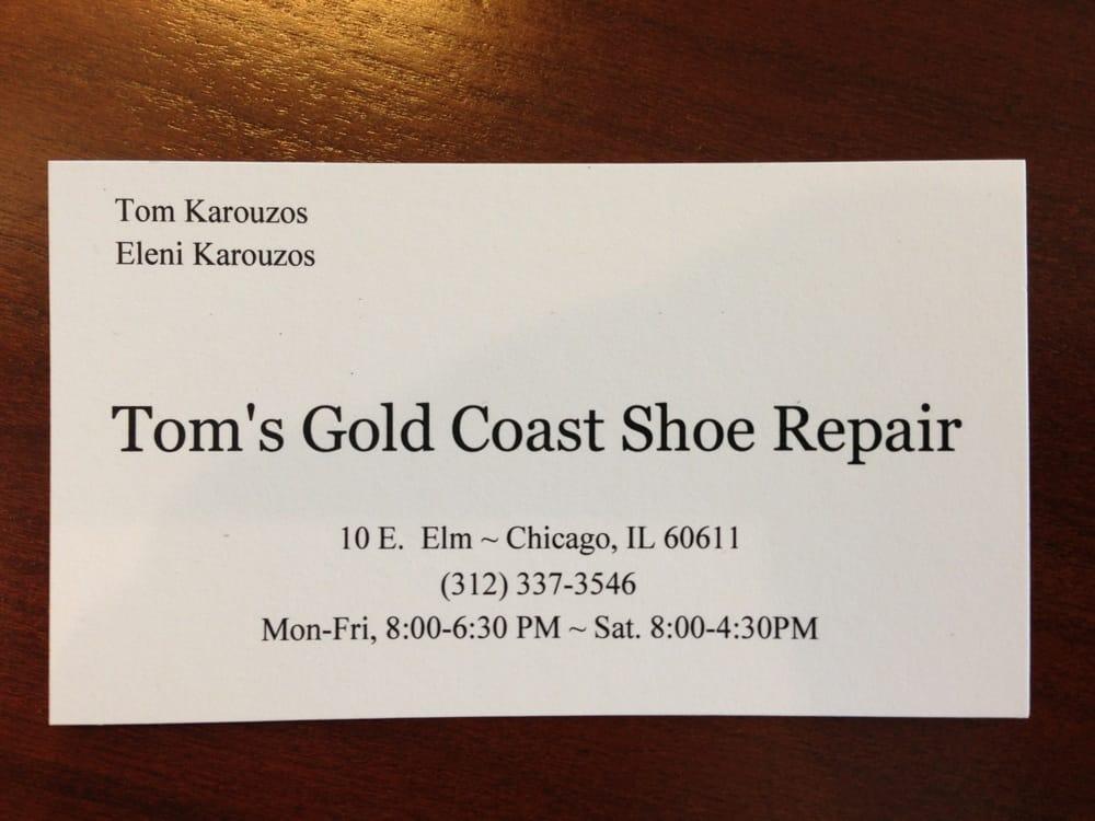 Toms Gold Coast Shoe Repair