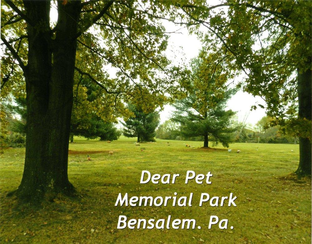 Dear Pet Memorial Park