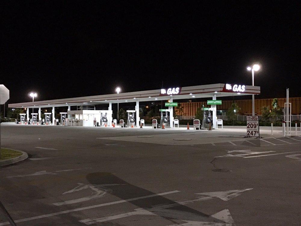 BJ's Gas: 7090 SW 24th St, Miami, FL