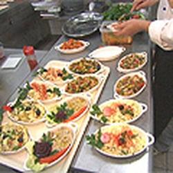 koschere kantine weiss - kosher - roonstr. 50, kwatier latäng ... - Koschere Küche