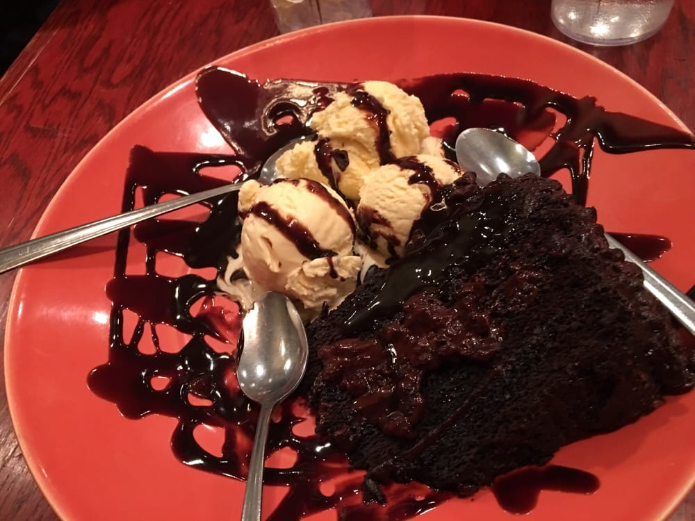 Smoky Mountain Pizza Chocolate Cake