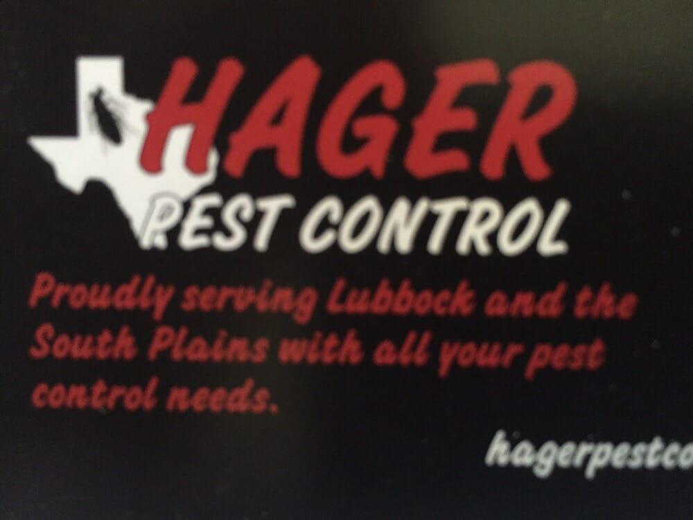 Hager Pest Control: Lubbock, TX