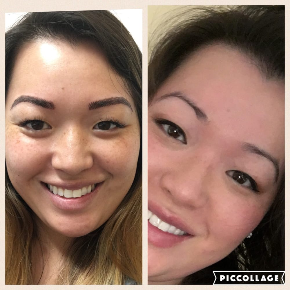 New Fabulous Eyebrows On The Left Old Eyebrows On The Right Yelp