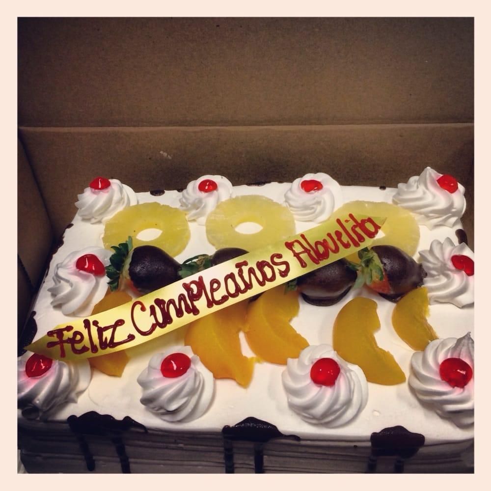 Moms Tres Leches Birthday Cake Yelp