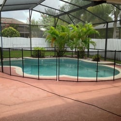 Baby Barrier Pool Fence Of Central Florida Pool Hot Tub Service