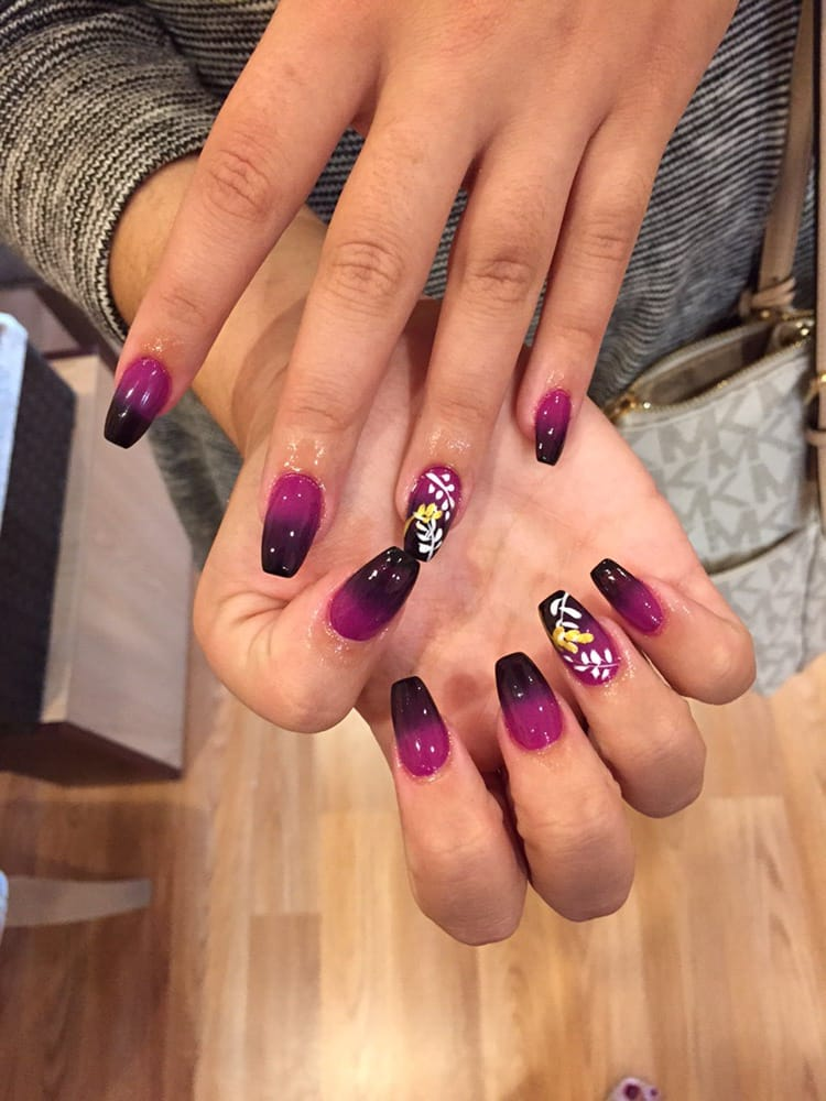 Ombré nails Luxor Nails 265 Main st, North Reading MA 01864 - Yelp