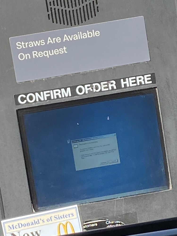 McDonald's: 1001 Railway Ave, Sisters, OR