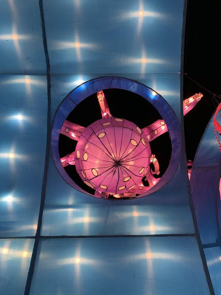 Moonlight Forest - Lantern Art Festival at Los Angeles Arboretum: 301 N Baldwin Ave, Arcadia, CA