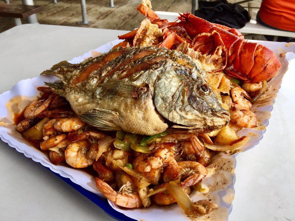 I sea food super platter yelp for San pedro fish market and restaurant