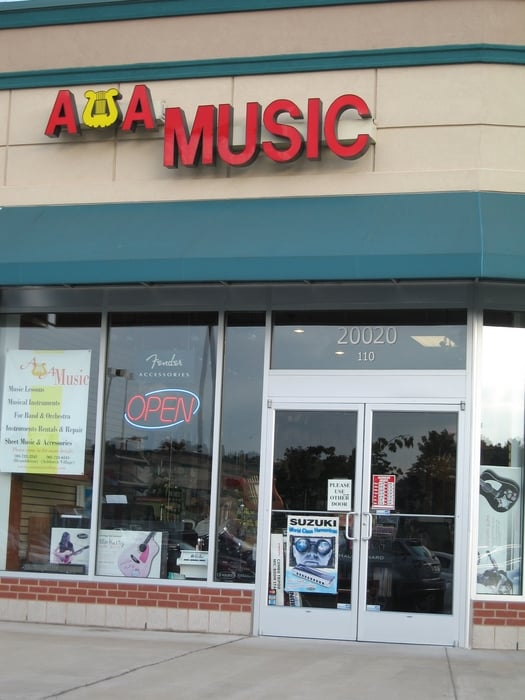 A&A Music: 20020 Ashbrook Commons Plz, Ashburn, VA