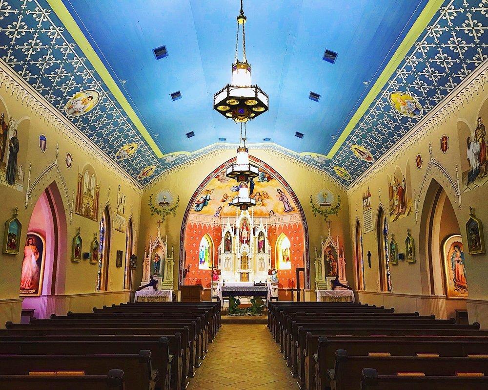 St Stanislaus Catholic Church: 311 7th St, Bandera, TX