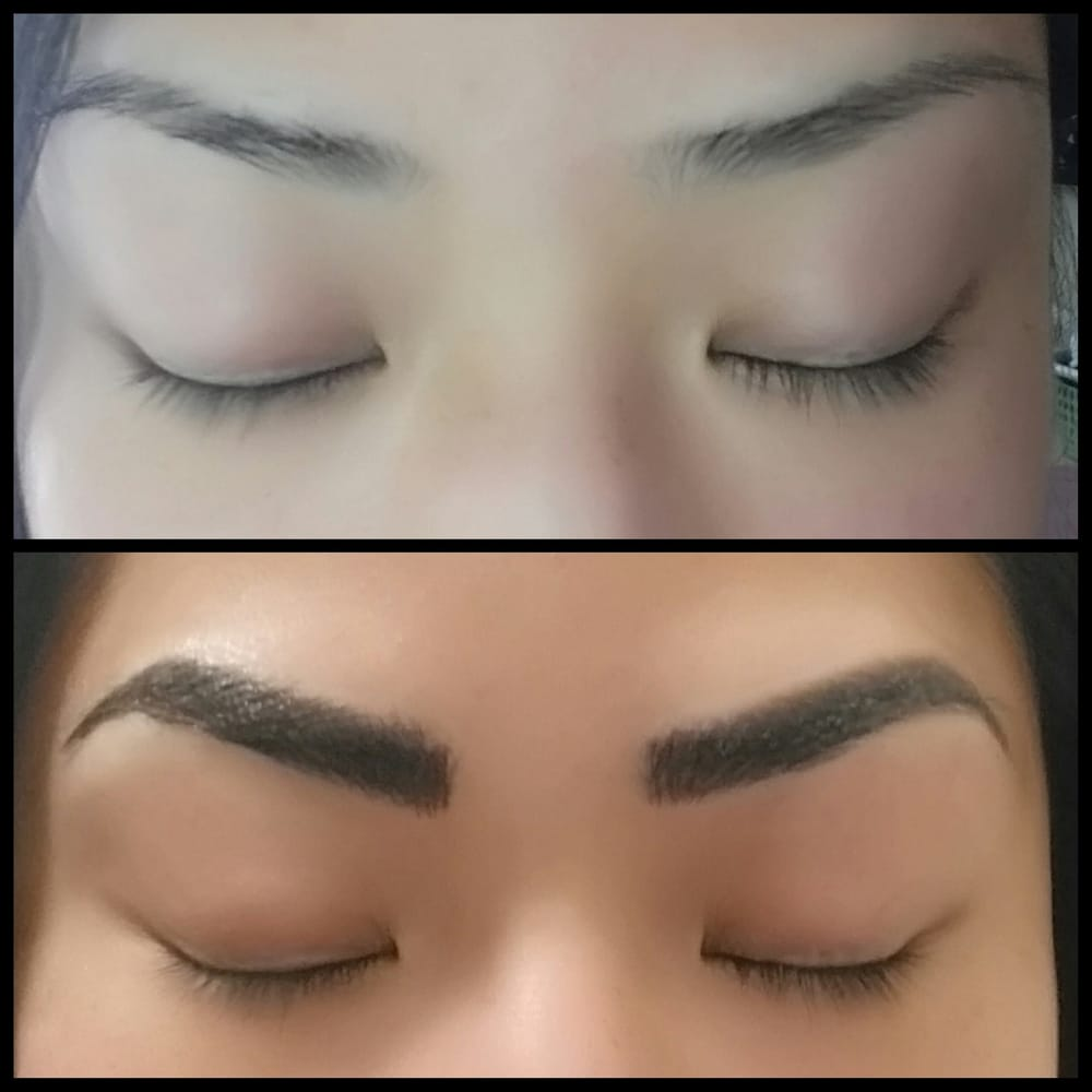 Microblading Immediately Before And After Can T Wait For