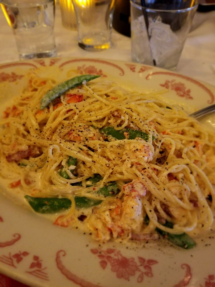 Photo of Maggiano's Little Italy - Skokie, IL, United States. lobster carbonara