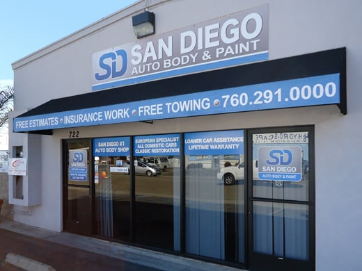 San Diego Auto Body Paint Escondido Ca