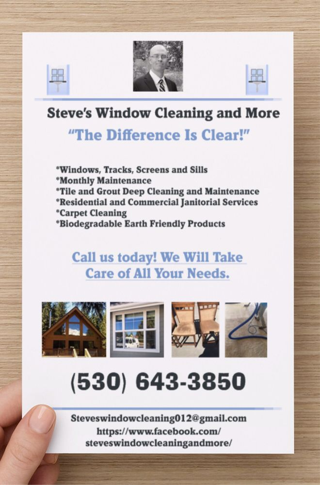 Steve's Window Cleaning and More: Yreka, CA