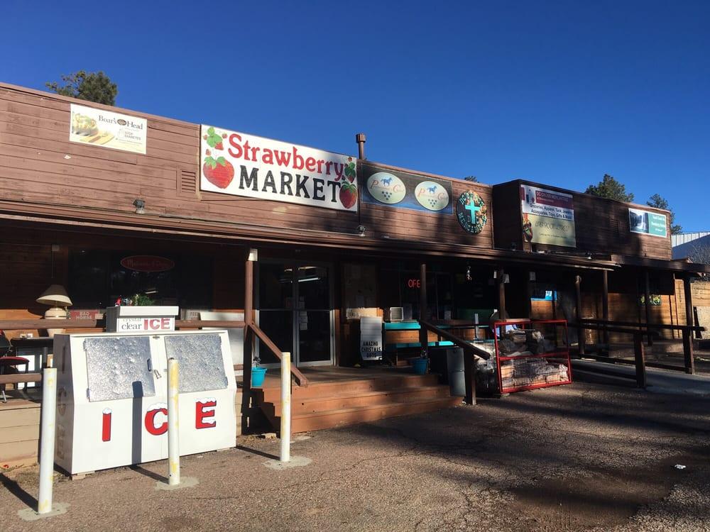 Strawberry Market: 5111 N Hwy 87, Strawberry, AZ