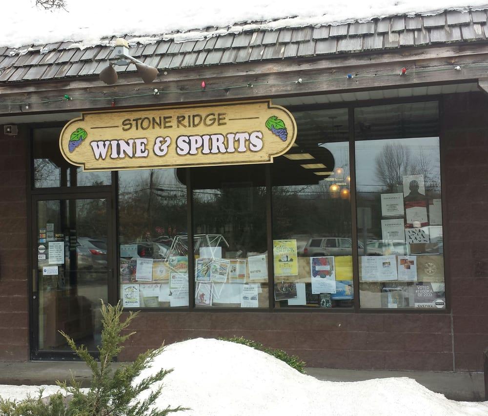 Stone Ridge Wine & Spirits: 3853 Main St, Stone Ridge, NY