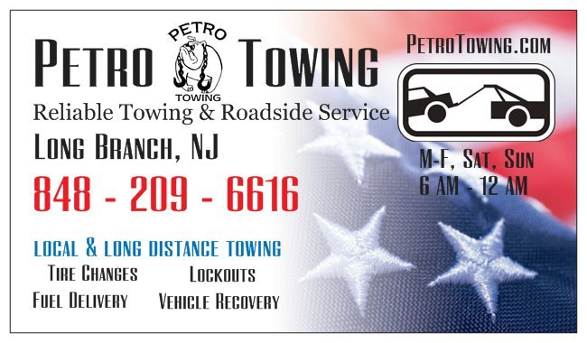 Petro Towing: 2nd Ave, Long Branch, NJ