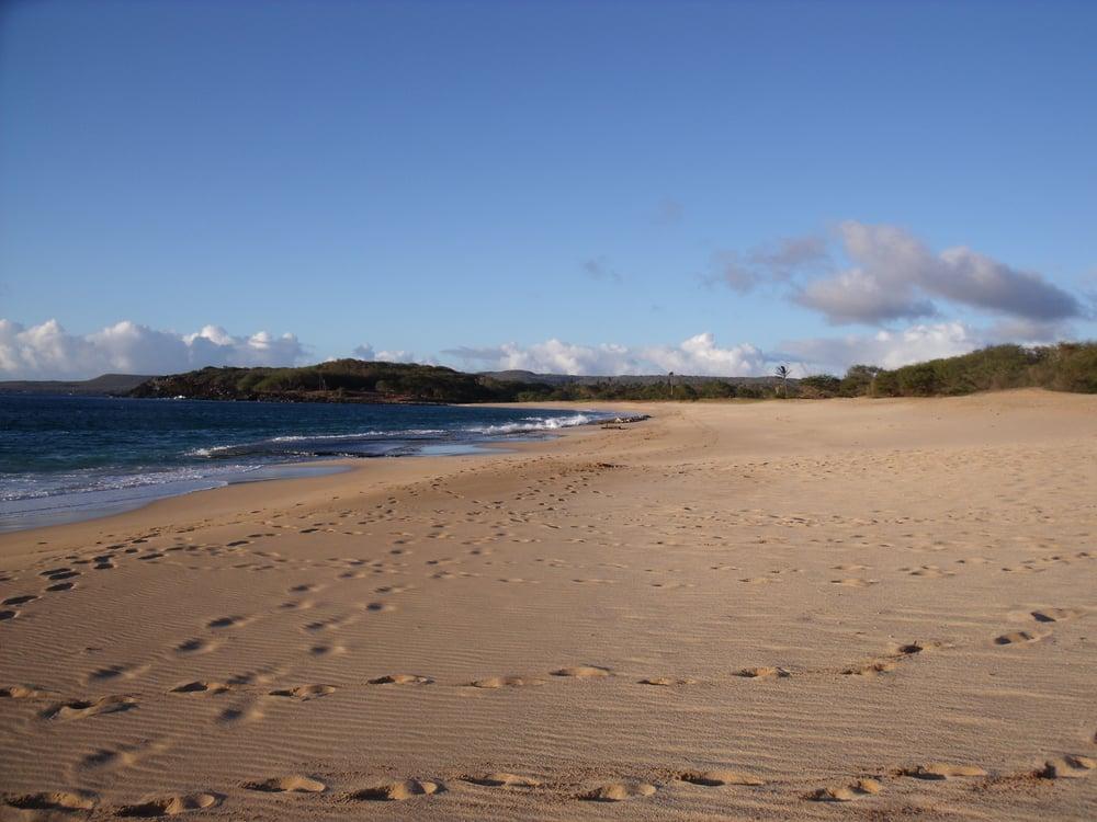 Papohaku Beach: West End  Molokai, HI