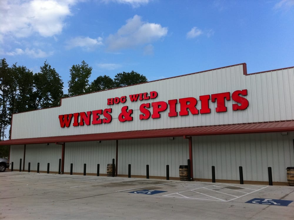 Hog wild wine and spirits: 7950 T P White Dr, Cabot, AR