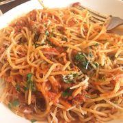 Spaghetti Alla Bolognese Menu Papa Razzi Boston