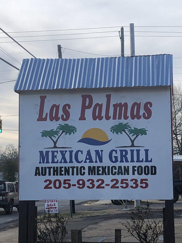 Las Palmas Mexican Restaurant: 1107 2nd Ave NE, Fayette, AL
