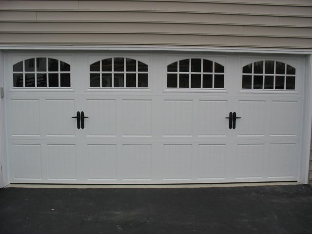 Side View Or CHI Door With High Lift With Roof Pitch Track   Yelp