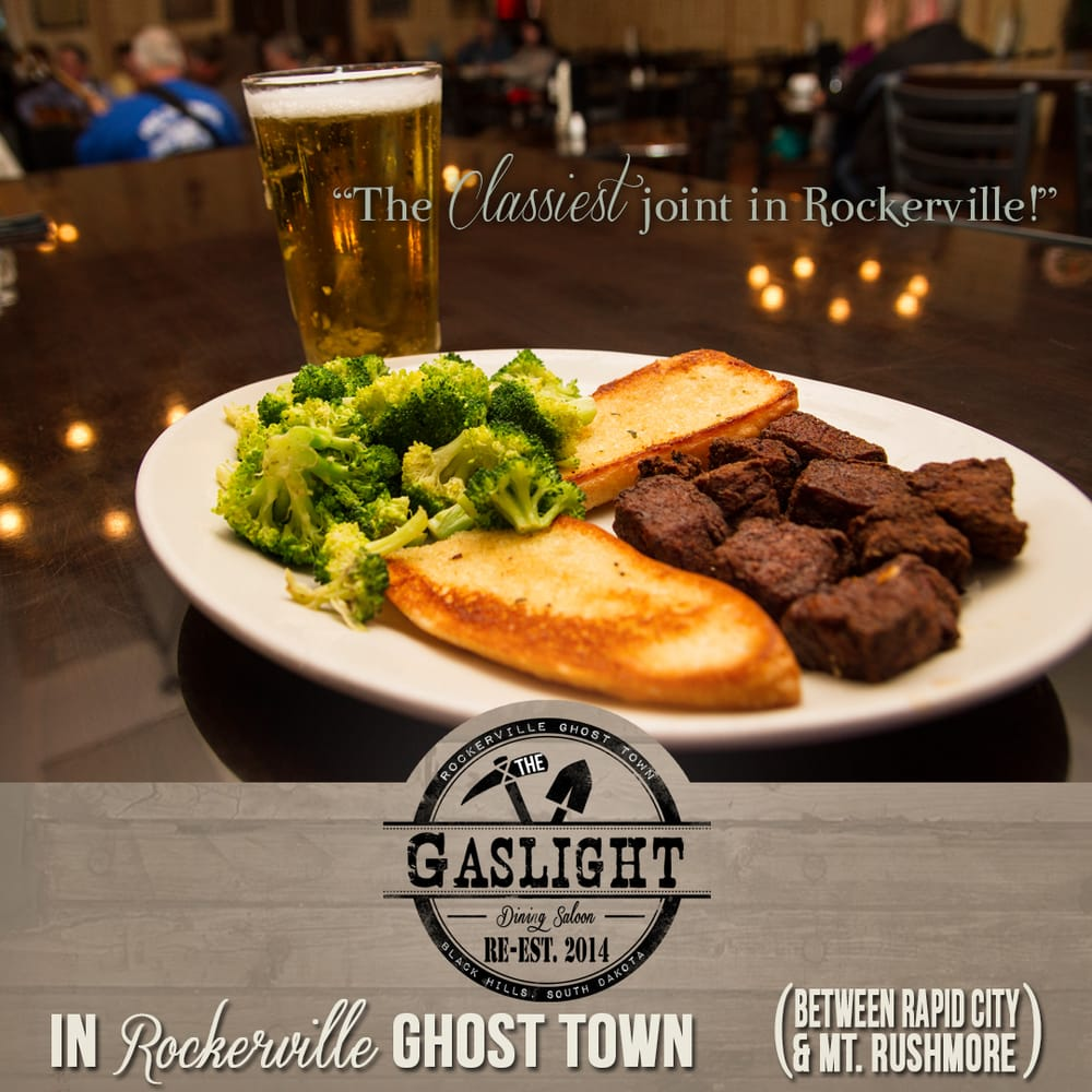 The Gaslight Restaurant & Saloon: 13490 Main St, Rockerville, SD