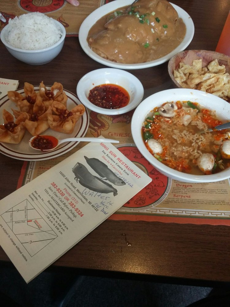 Ming Sun Restaurant: 18300 Allen Rd, Melvindale, MI
