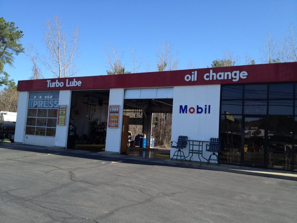 turbo lube - oil change stations