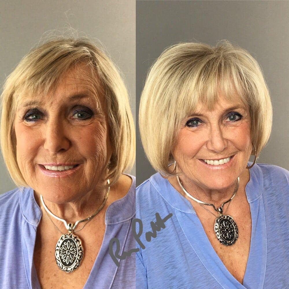 Highlights and haircut style by creative director rosa for Acquafredda salon