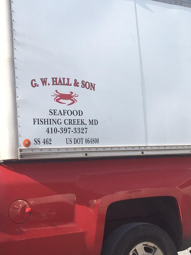 Blough's Seafood: 9620 New Bridge Rd, Denton, MD