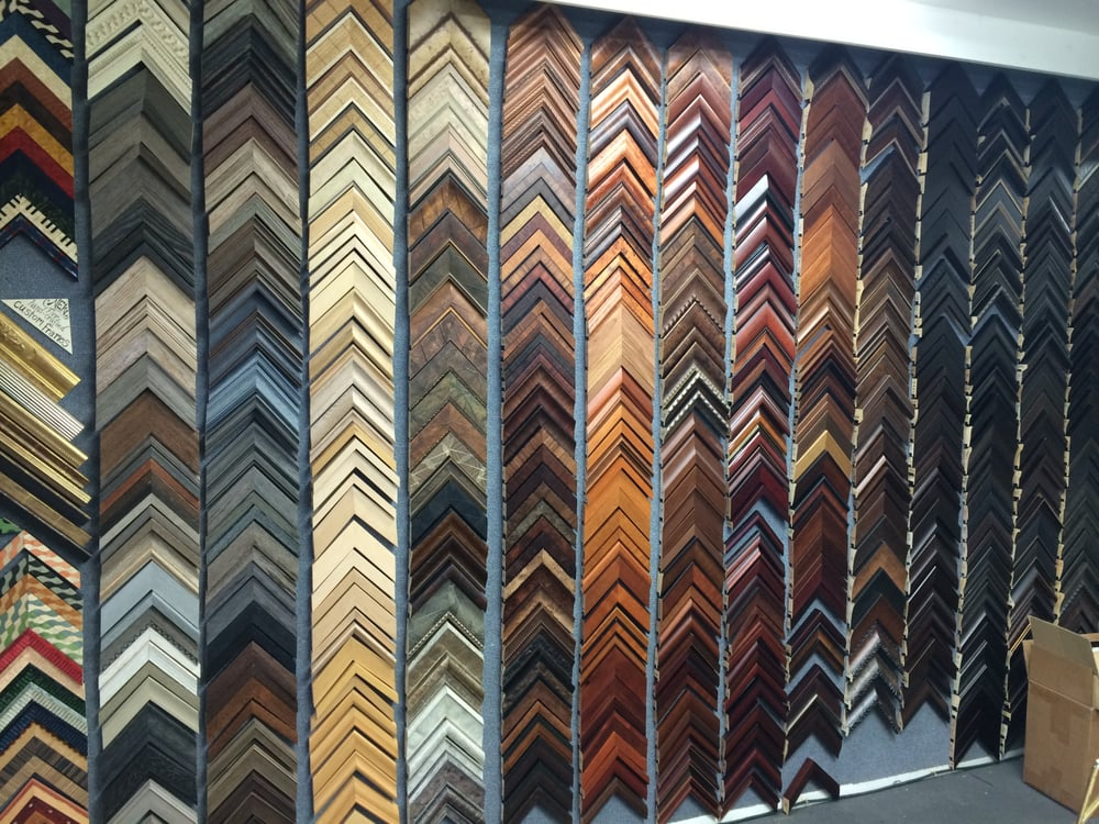 A small percentage of our custom frame samples - Yelp