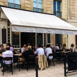 Le bistro des grands hommes 13 recensioni bistrot 10 for Appartement bordeaux grands hommes