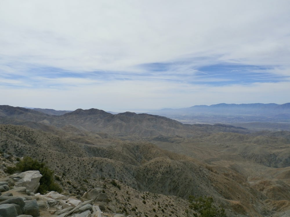 Keys View with Salton Sea in the background. - Yelp