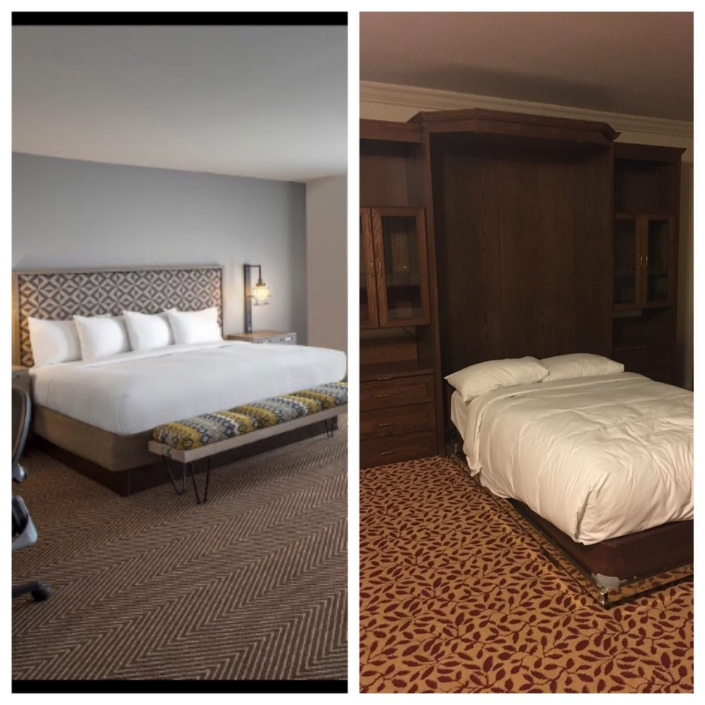 Vs Hotel: Expectation Of The Room Online Vs. Reality.