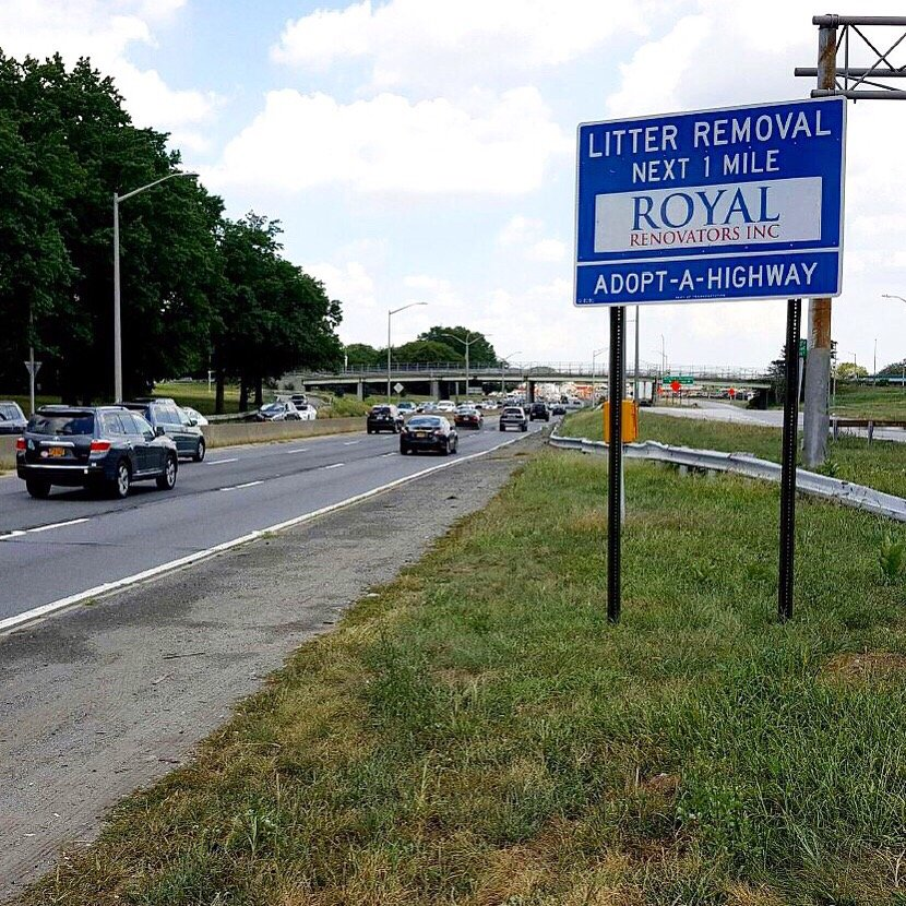 Adopt A Highway Cleaning Near Exit 17 Belt Parkway Queens