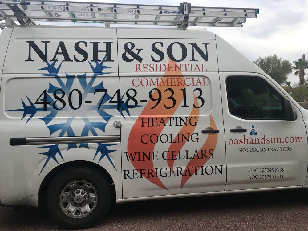 Nash and Son Refrigeration: 9601 N 122nd Pl, Scottsdale, AZ