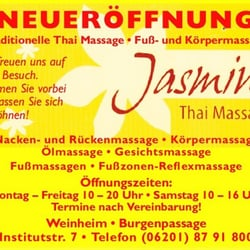 Jasmin thai massage frankfurt