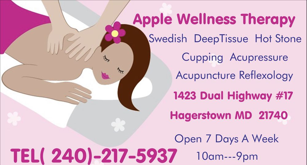 Apple Wellness Therapy: 1423 Dual Hwy, Hagerstown, MD