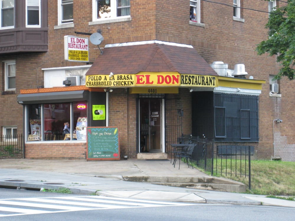 El don restaurant latin american 4401 14th st nw for American cuisine washington dc